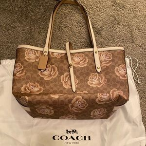 Large Leather Market Tote